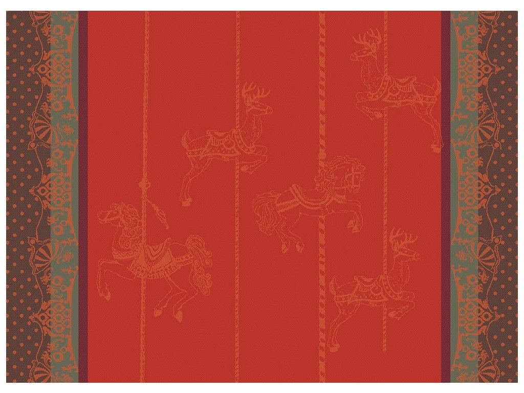 CARROUSEL NOEL Prostírka 55 x 40 cm
