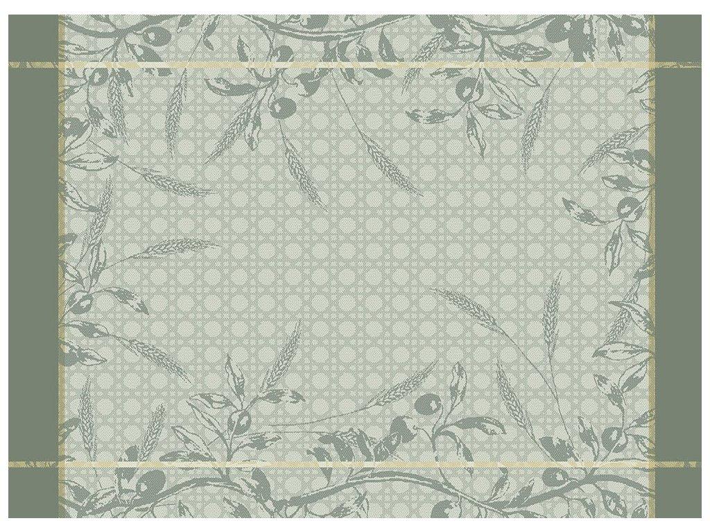 PERSÉPHONE Olive Prostírka 55 x 40 cm