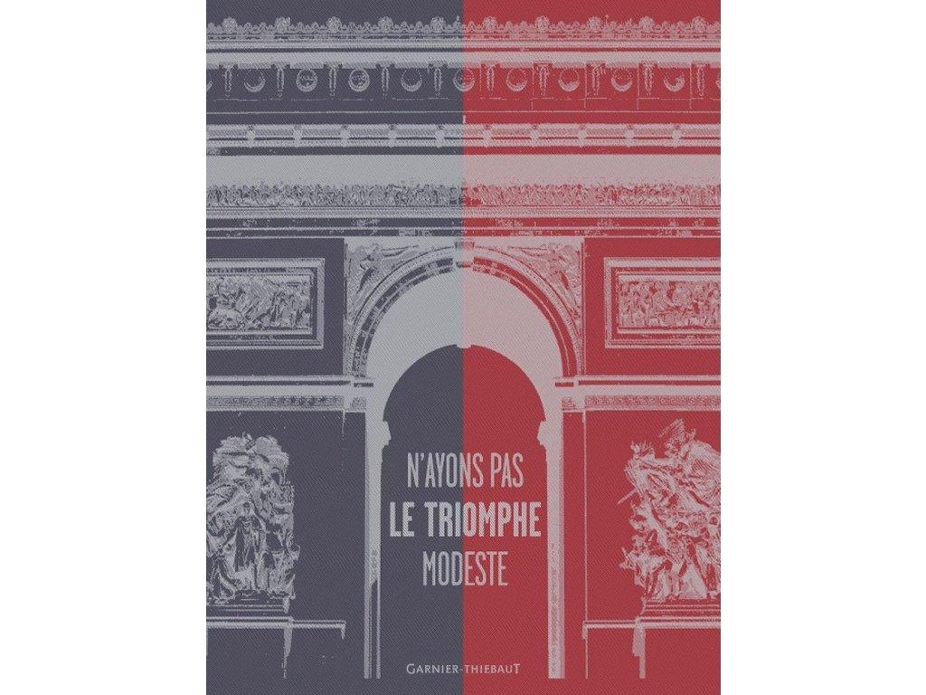 TRIOMPHE MARSEILLAISE Utěrka 56 x 77 cm
