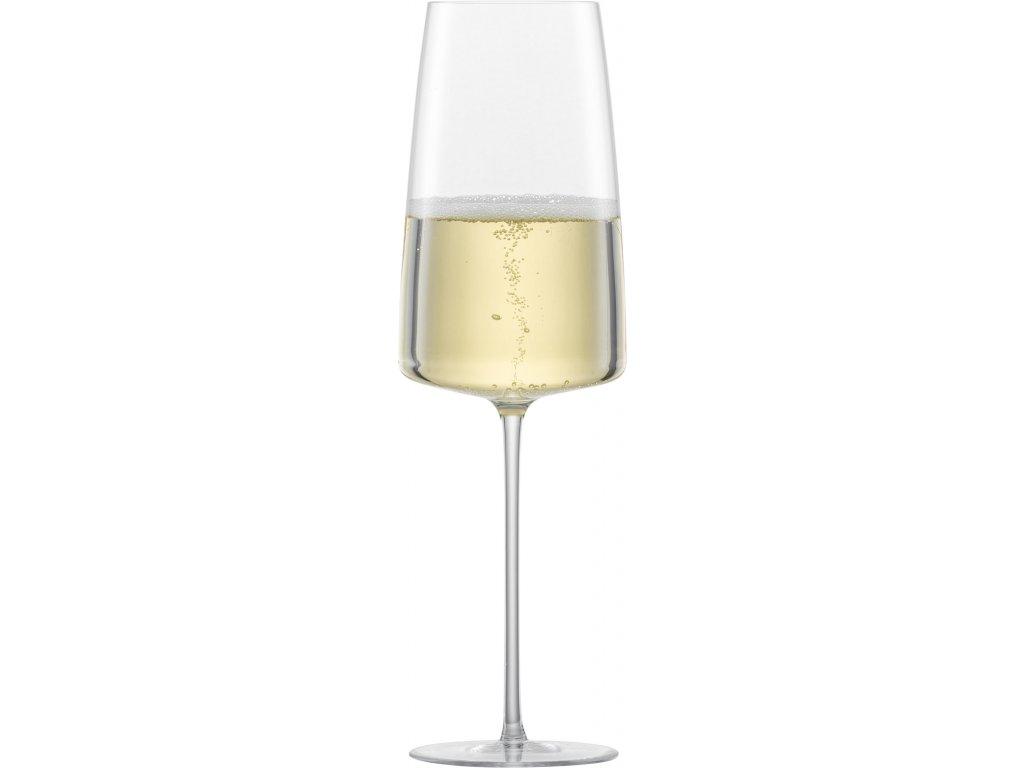 Zwiesel Glas Simplify Lehká a svěží perlivá vína, 2 kusy
