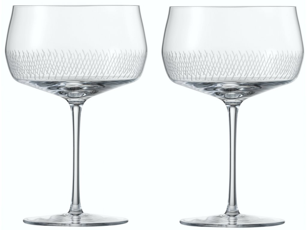 Zwiesel Glas Upper West sklenice na koktejl, 2 kusy