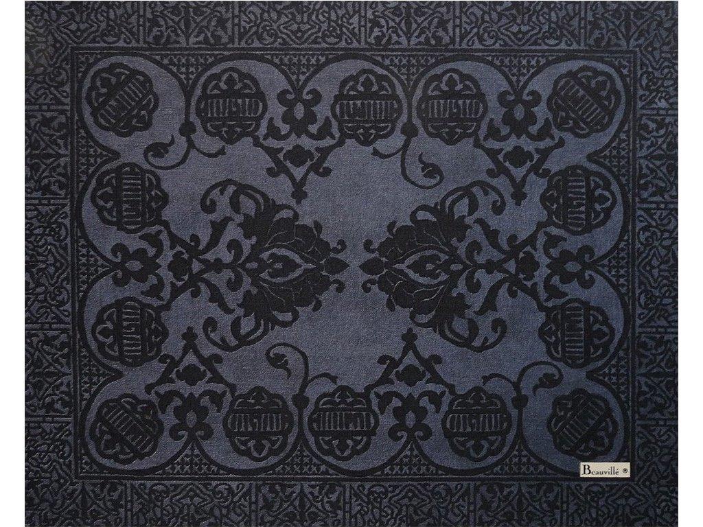 Beauvillé Grand Soir modrá prostírka 40x50 cm