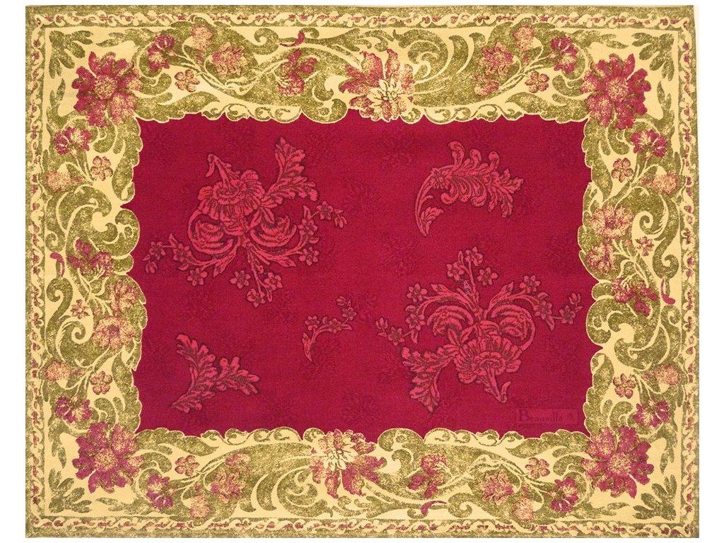 Beauvillé Ponte Vecchio červená prostírka 40x50 cm
