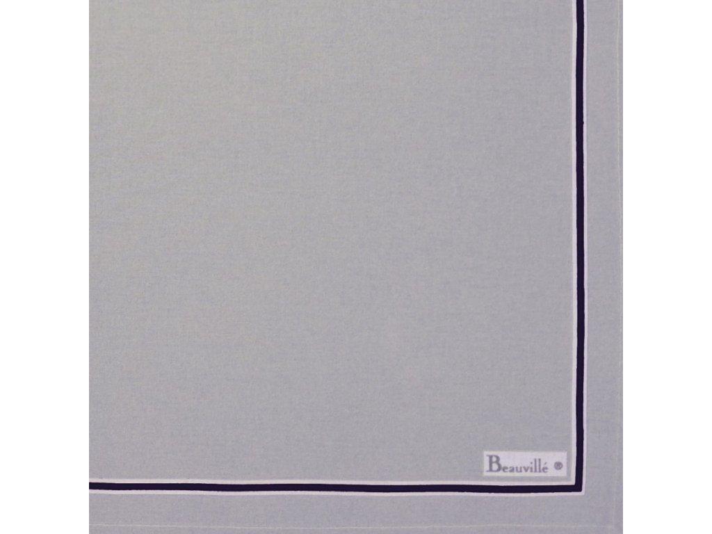 Beauvillé Picoti černý ubrousek 45452 cm