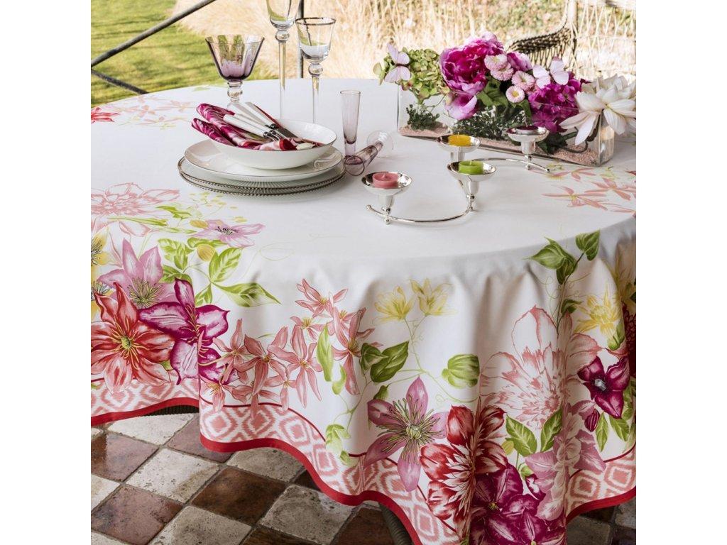 Beauvillé Rivoli růžový běhoun 50x150 cm