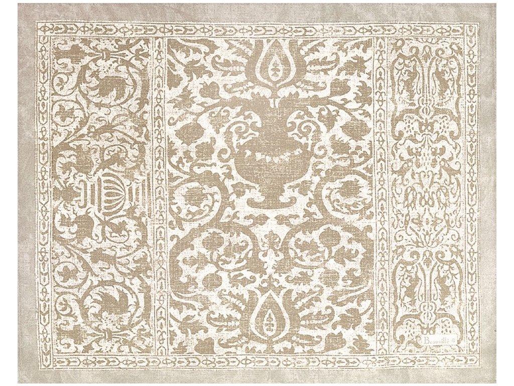 Beauvillé Rialto bílá prostírka 40x50 cm