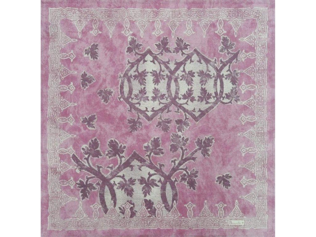 Beauvillé Rialto fialový ubrousek 55x55 cm