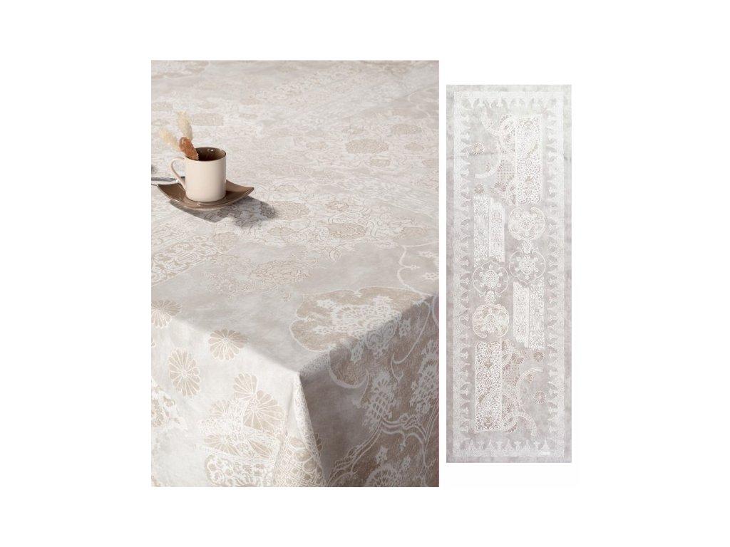 Beauvillé Rialto bílý běhoun 50x150 cm