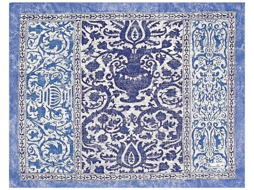 Beauvillé Rialto světle modrá prostírka 40x50 cm