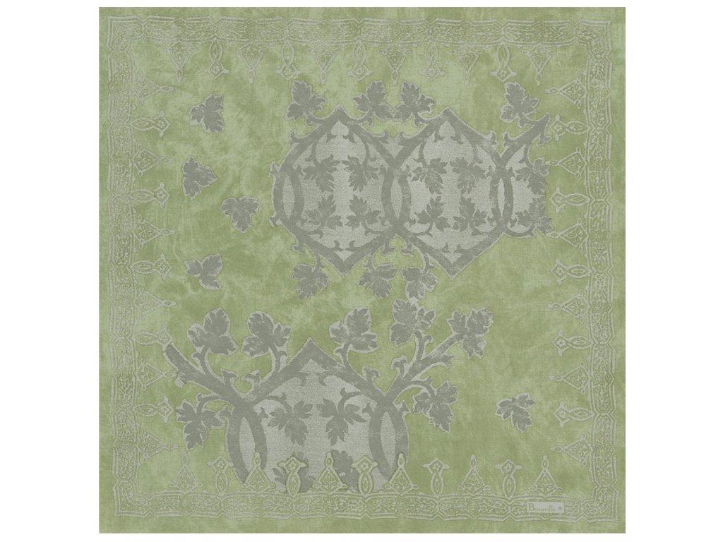Beauvillé Rialto zelený ubrousek 55x55 cm