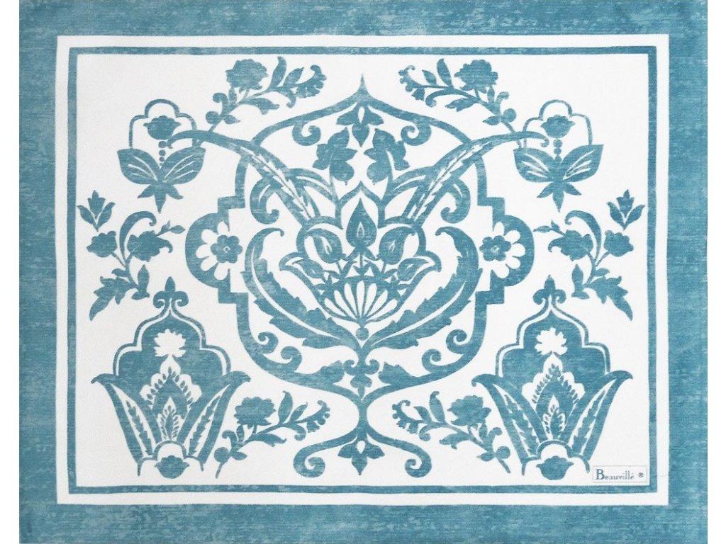 Beauvillé Saint-Tropez světle modrá prostírka 40x50 cm