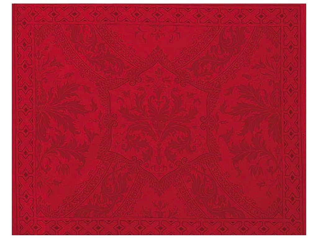 Beauvillé Topkapi červená prostírka 40x50 cm