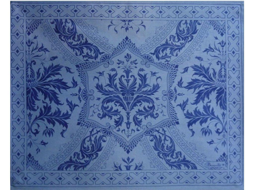 Beauvillé Topkapi modrá prostírka 40x50 cm