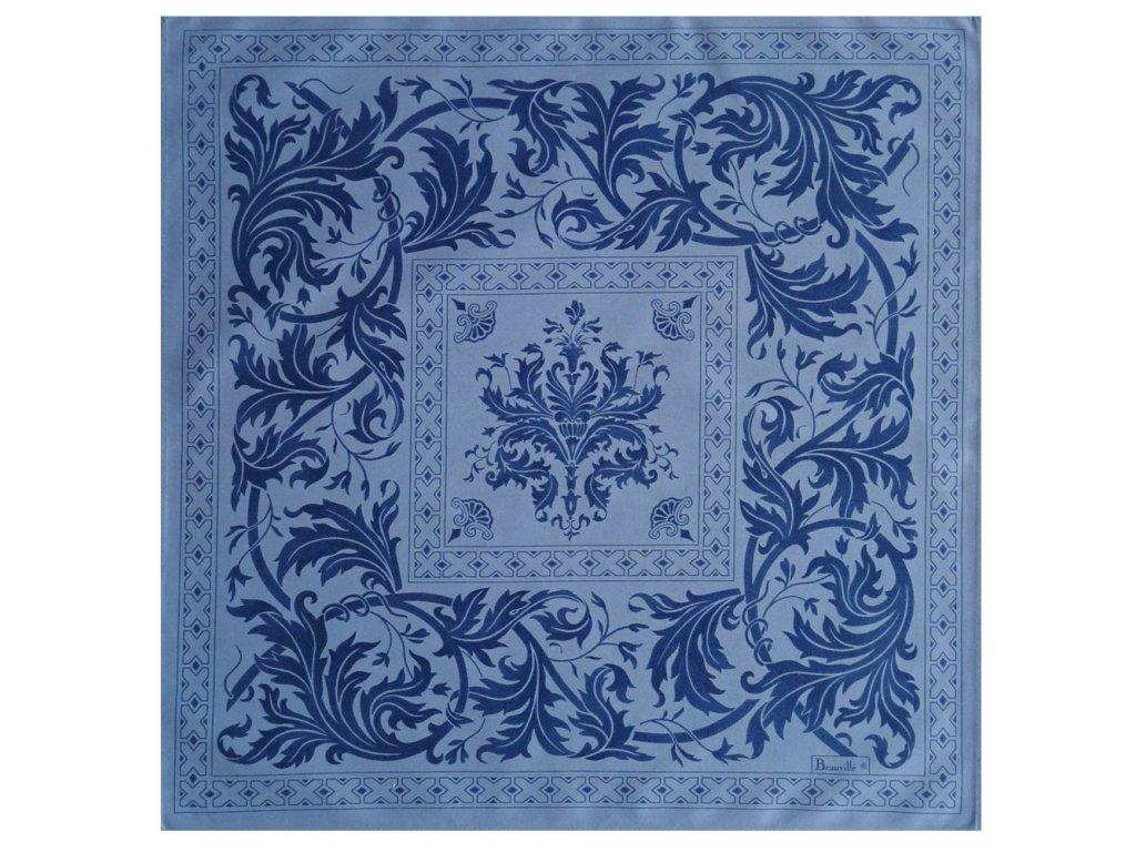 Beauvillé Topkapi modrý ubrousek 55x55 cm