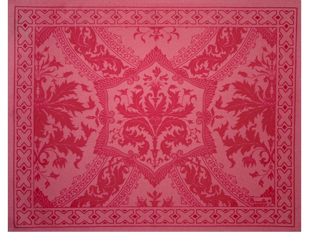 Beauvillé Topkapi růžová prostírka 40x50 cm