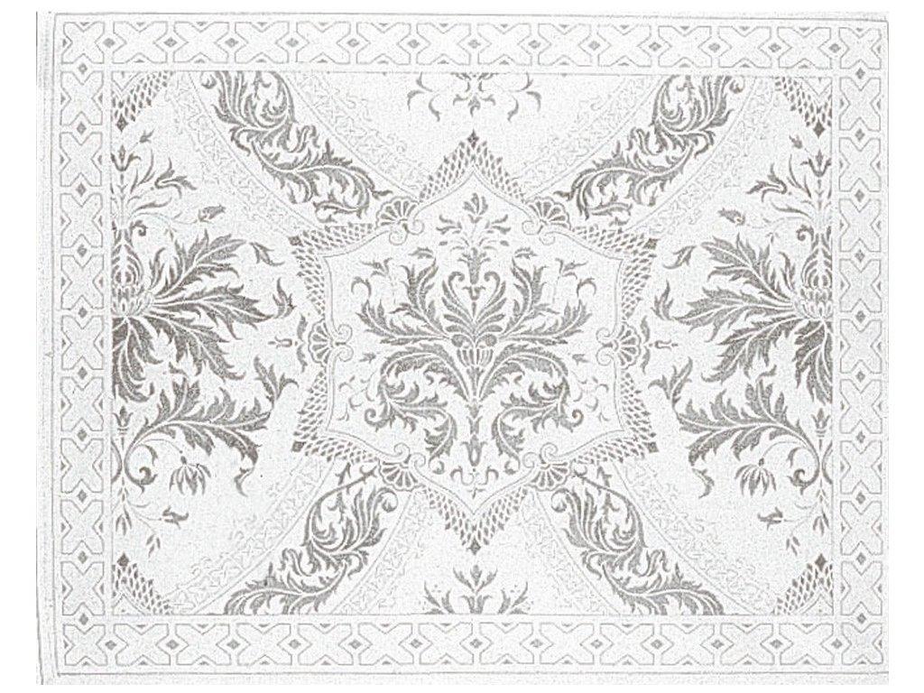 Beauvillé Topkapi titanově šedá prostírka 40x50 cm