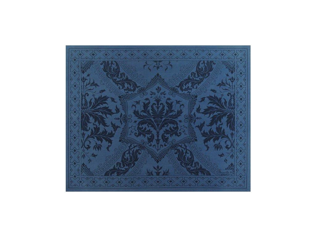 Beauvillé Topkapi tmavě modrá prostírka 40x50 cm