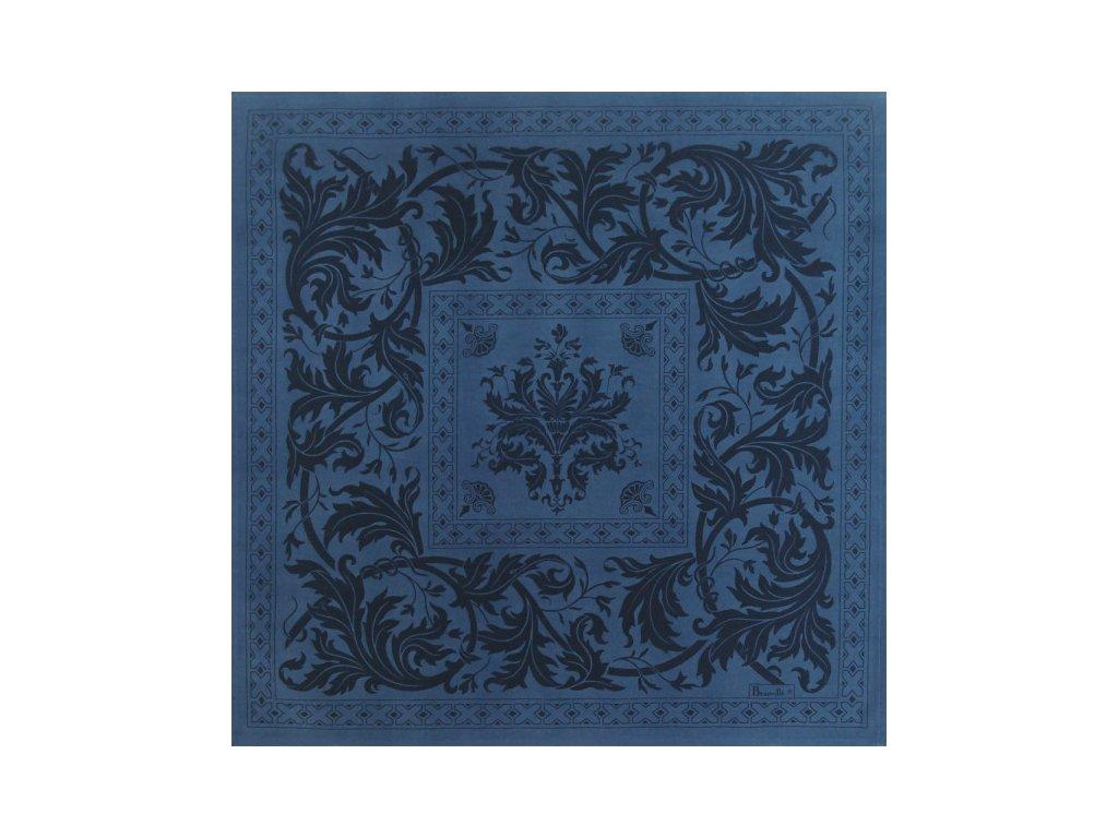 Beauvillé Topkapi tmavě modrý ubrousek 55x55 cm