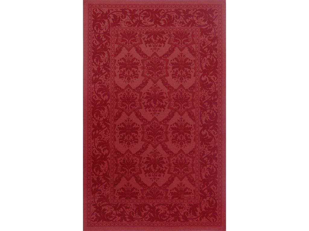 Beauvillé Topkapi červená utěrka 50x80 cm
