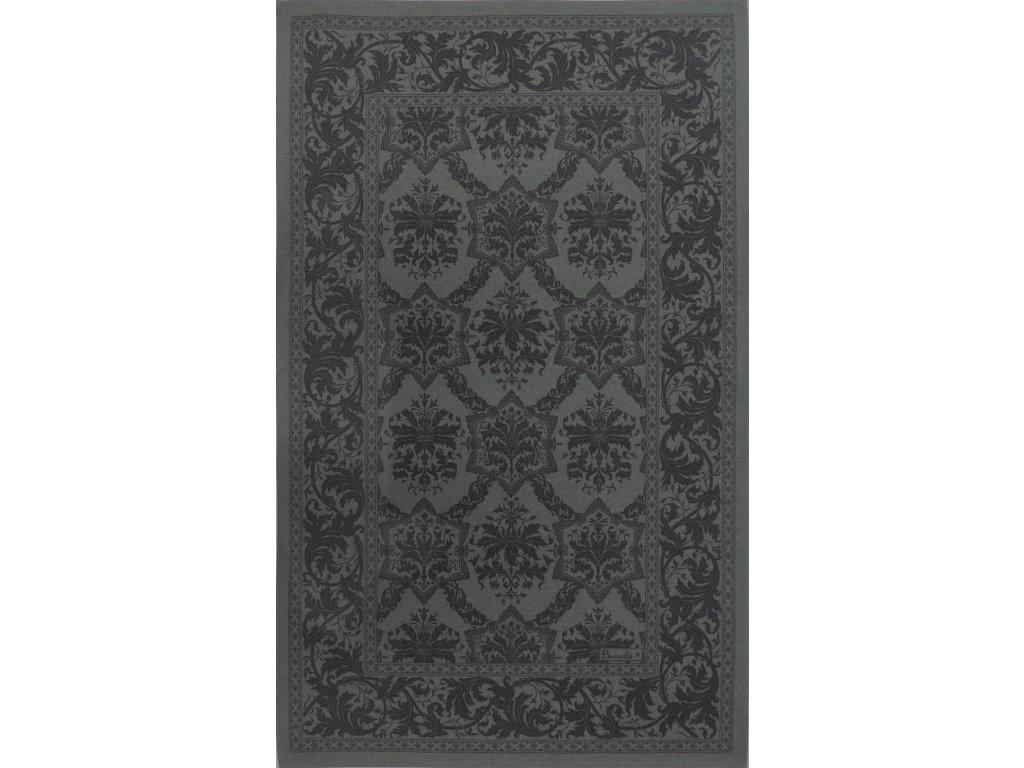 Beauvillé Topkapi šedá utěrka 50x80 cm
