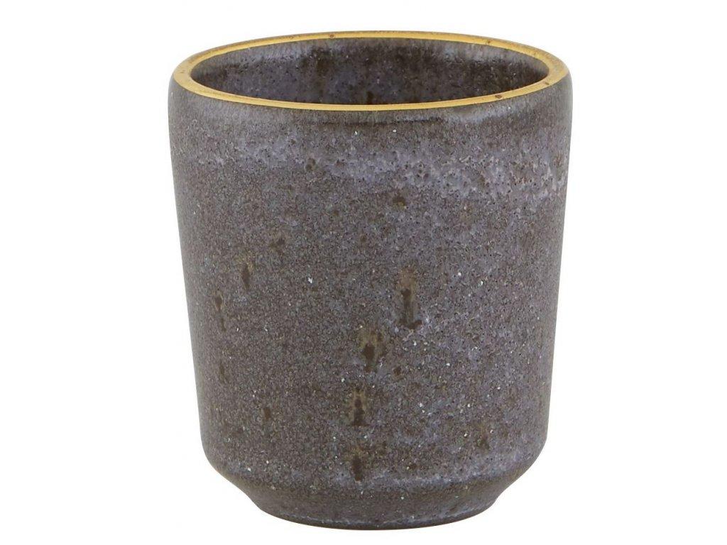 Casa Alegre Gold Stone Espresso šálek bronzový