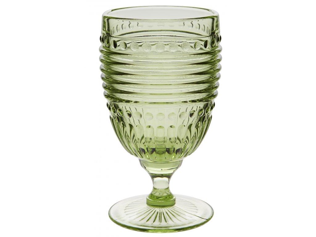 Casa Alegre Campania Zelená sklenice na víno