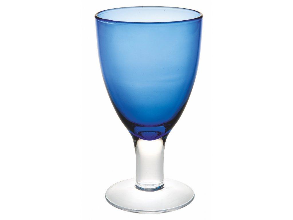 Casa Alegre Cheerful Modrá sklenice na víno