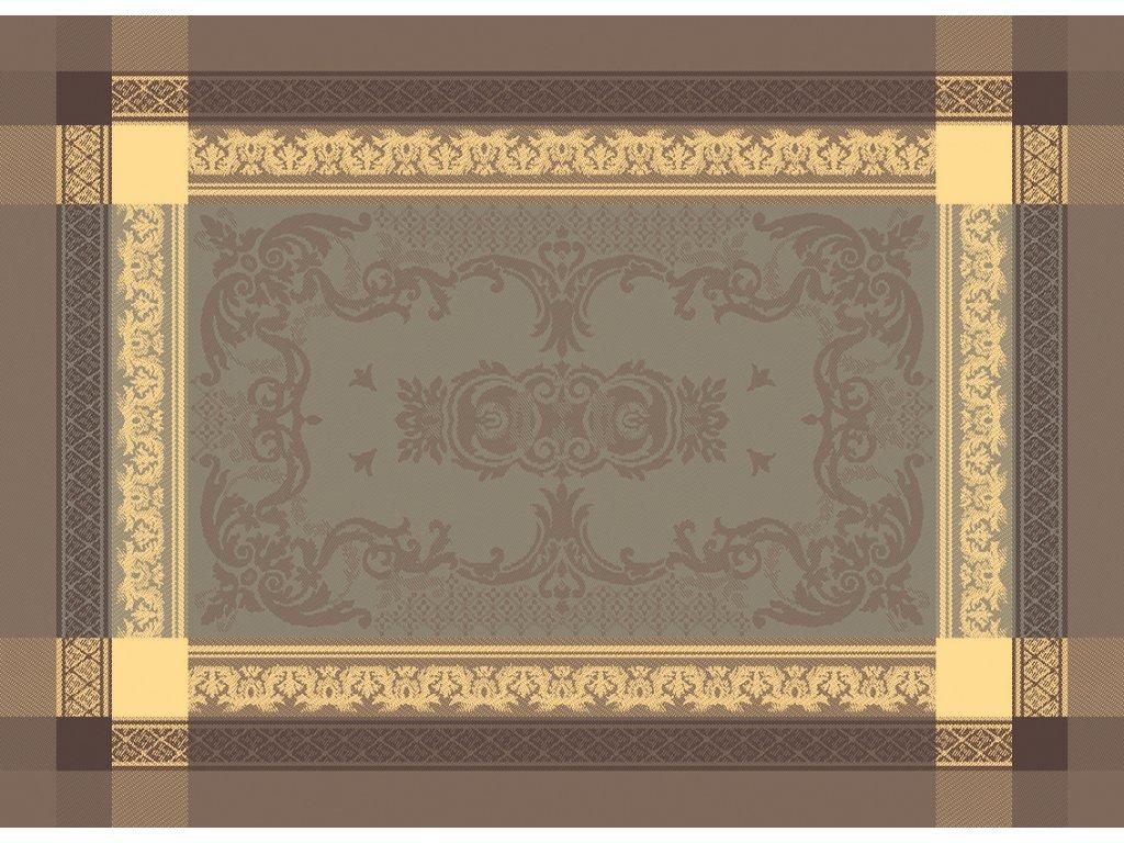 Garnier Thiebaut FONTAINEBLEAU Tilleul Prostírka 54 x 39 cm