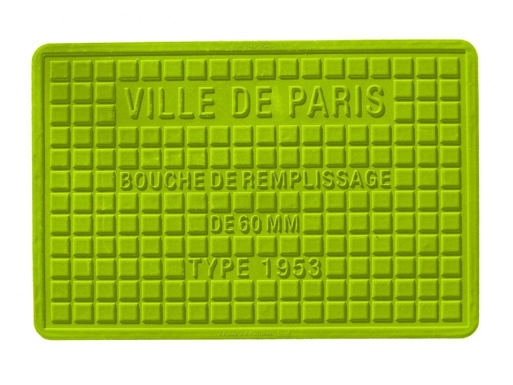 STREET COVER Silikonová podložka / prostírka Paris 30x45 cm, Mepra