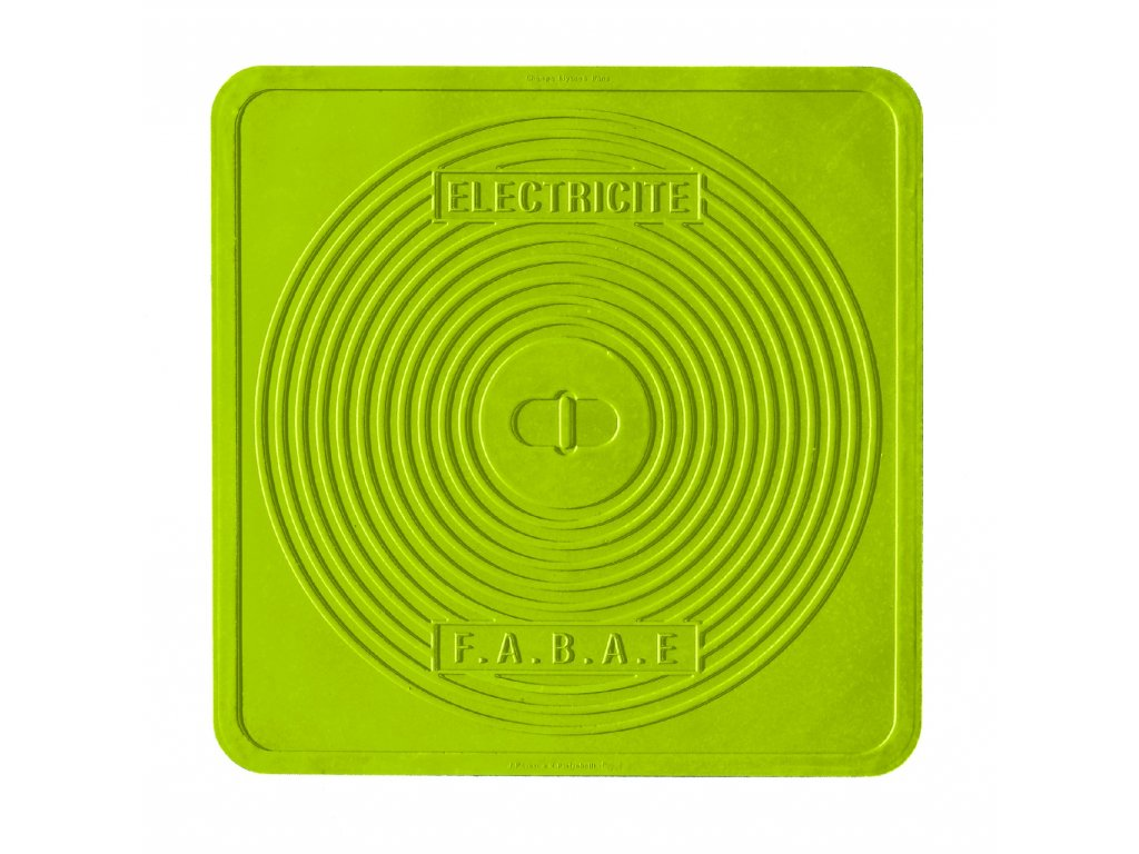 STREET COVER Silikonová podložka / prostírka Paris 45x45 cm, Mepra