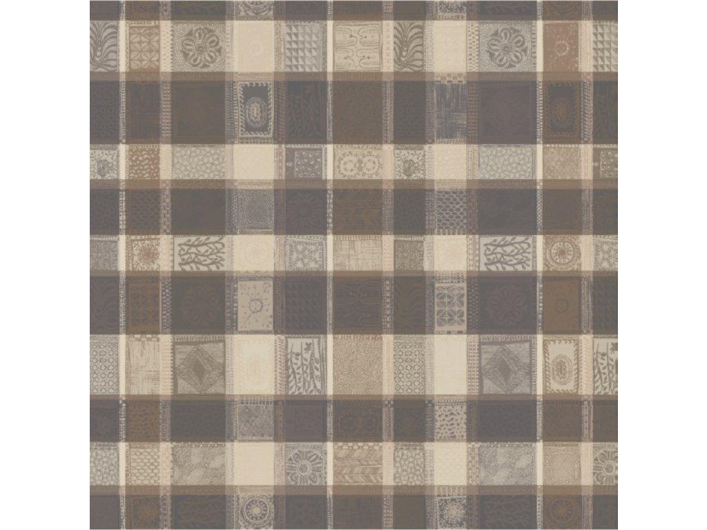 MILLE WAX Argile Metrový textil / látka šíře 185 cm
