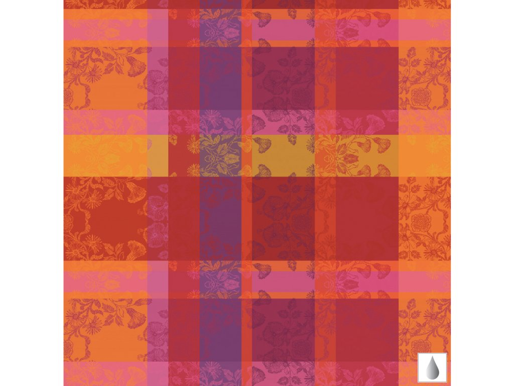 MILLE FIORI Feuillage Metrový textil / látka šíře 180 cm