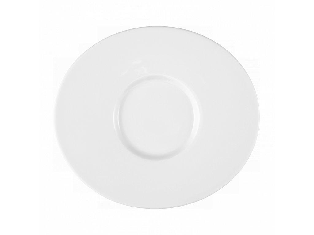 Mandarin Uni 6 Oválný mělký party talíř 22 cm, Seltmann Weiden