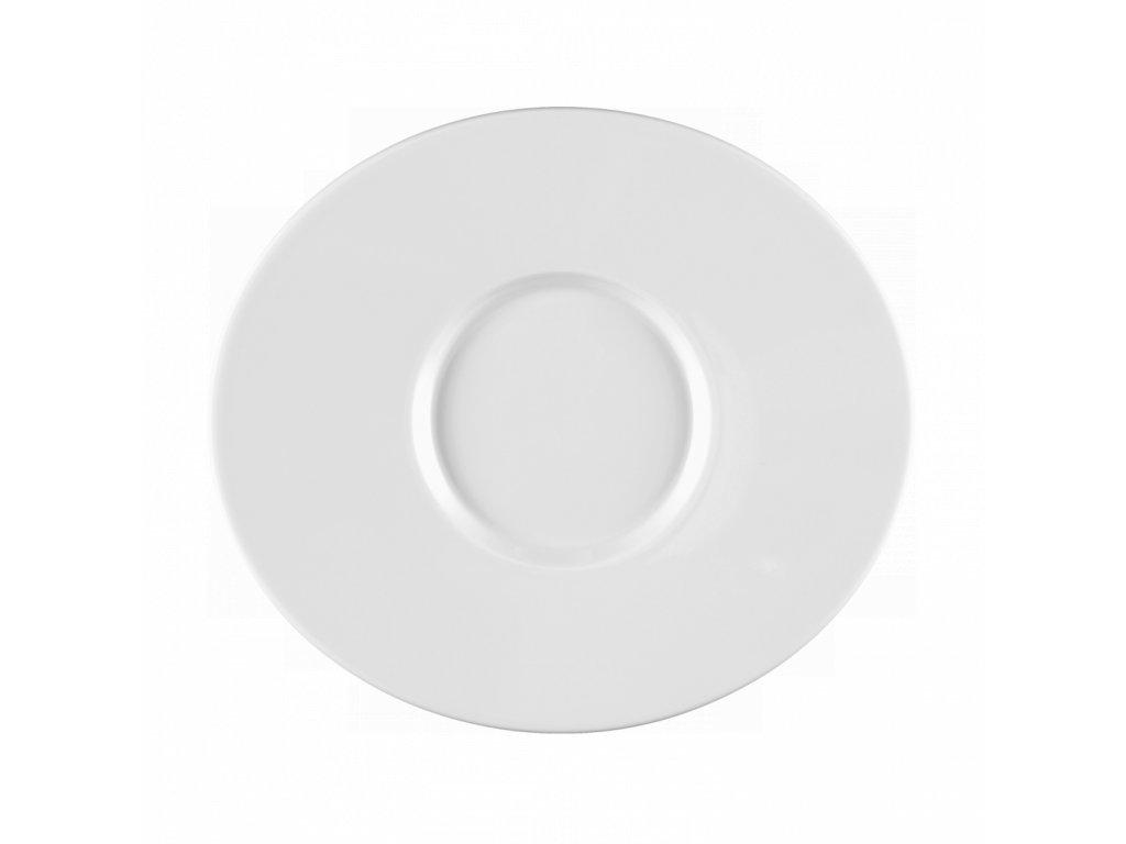 Mandarin Uni 6 Oválný mělký party talíř 25 cm, Seltmann Weiden
