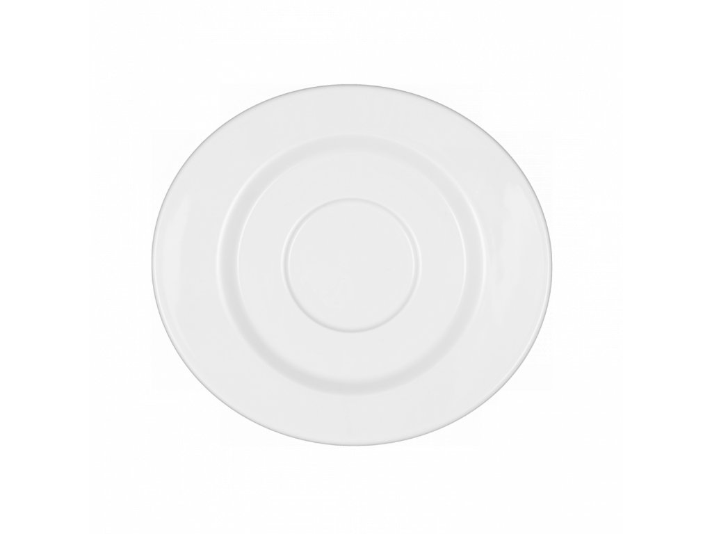 Mandarin Uni 6 Oválný polévkový podšálek, Seltmann Weiden