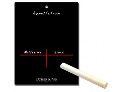 Sada 10 identifikačních kartiček, Atelier du Vin