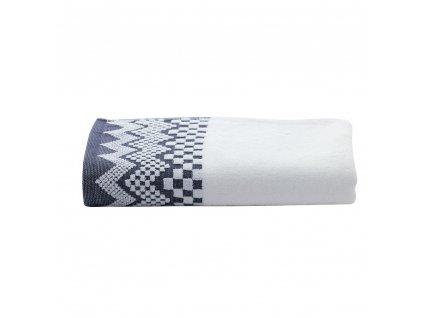 ZIG ZAG Bílý ručník, Garnier Thiebaut