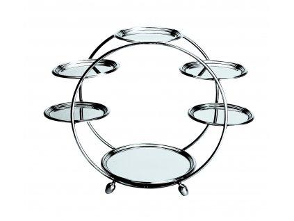 Palace Kruhový stojan se 2 průměry talířů, Mepra