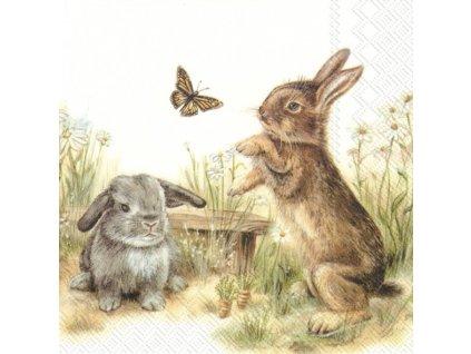 IHR Bunny & Clyde papírové ubrousky