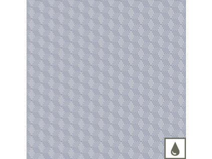 MILLE ZIGZAG Silver Role155x1500 cm