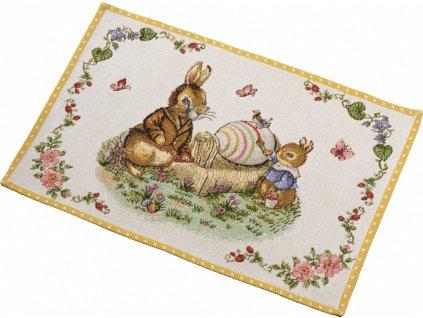 Villeroy & Boch Spring Fantasy Gobelínová prostírka 32x48 cm Dědeček a Max