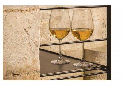 Atelier du Vin Plechový plát 60 cm do regálu na víno, L'Atelier du Vin