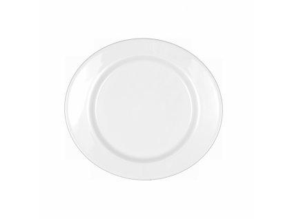 Mandarin Uni 6 Oválný pečivový talíř s lemem 18 cm, Seltmann Weiden