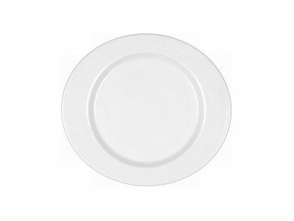Mandarin Uni 6 Oválný dezertní talíř s lemem 24 cm, Seltmann Weiden