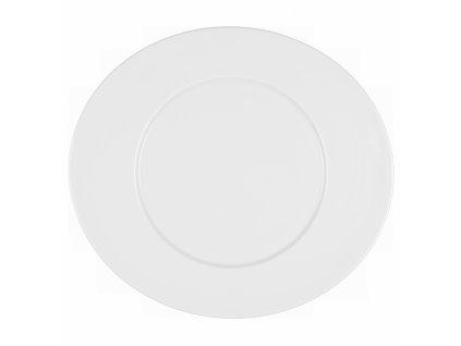 Mandarin Uni 6 Oválný mělký talíř s lemem 37.5 cm, Seltmann Weiden