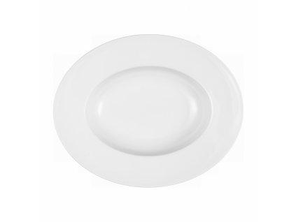 Mandarin Uni 6 Hluboký oválný přílohový talíř 24 cm, Seltmann Weiden