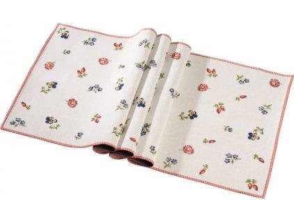 Villeroy & Boch Textil Accessories Petite Fleur Gobelínový běhoun 50x150 cm