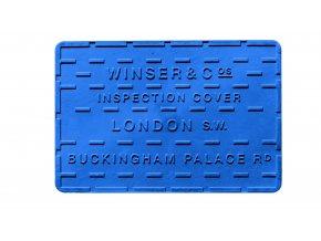 STREET COVER Silikonová podložka / prostírka London 30x45 cm, Mepra