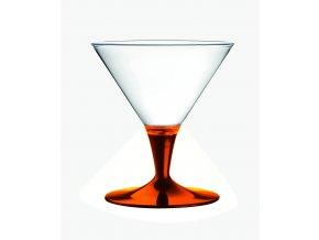 POLYCARBONATO Sklenice na zmrzlinu 12 cm, Mepra