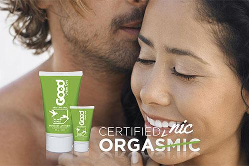 Přírodní lubrikační gel Good Clean Love na bázi vody